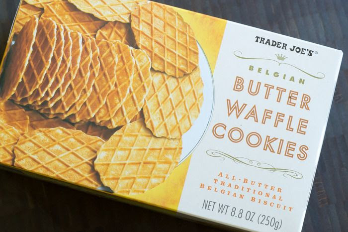 trader joe's butter waffle cookies review : part of a weekly review series of tj's desserts and treats