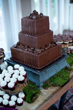 Grooms cake with chocolate glaze     cakes tags