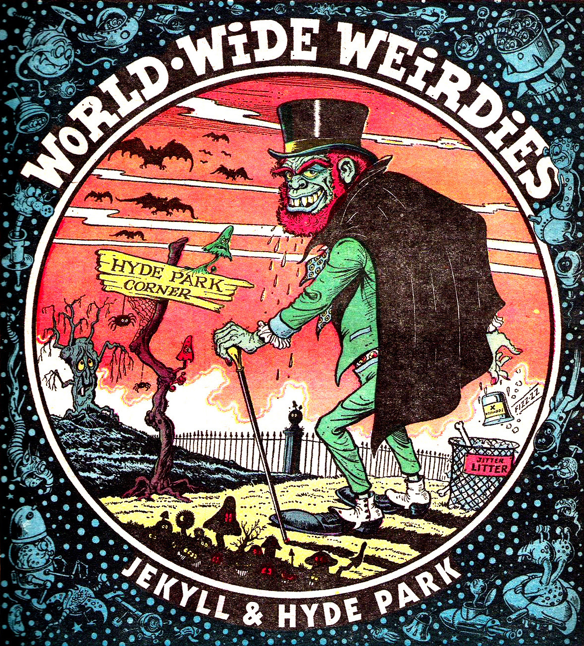 Ken Reid - World Wide Weirdies 62