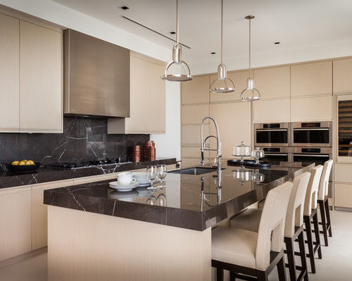 Taupe Kitchen Cabinets Home Design Ideas, Pictures ...