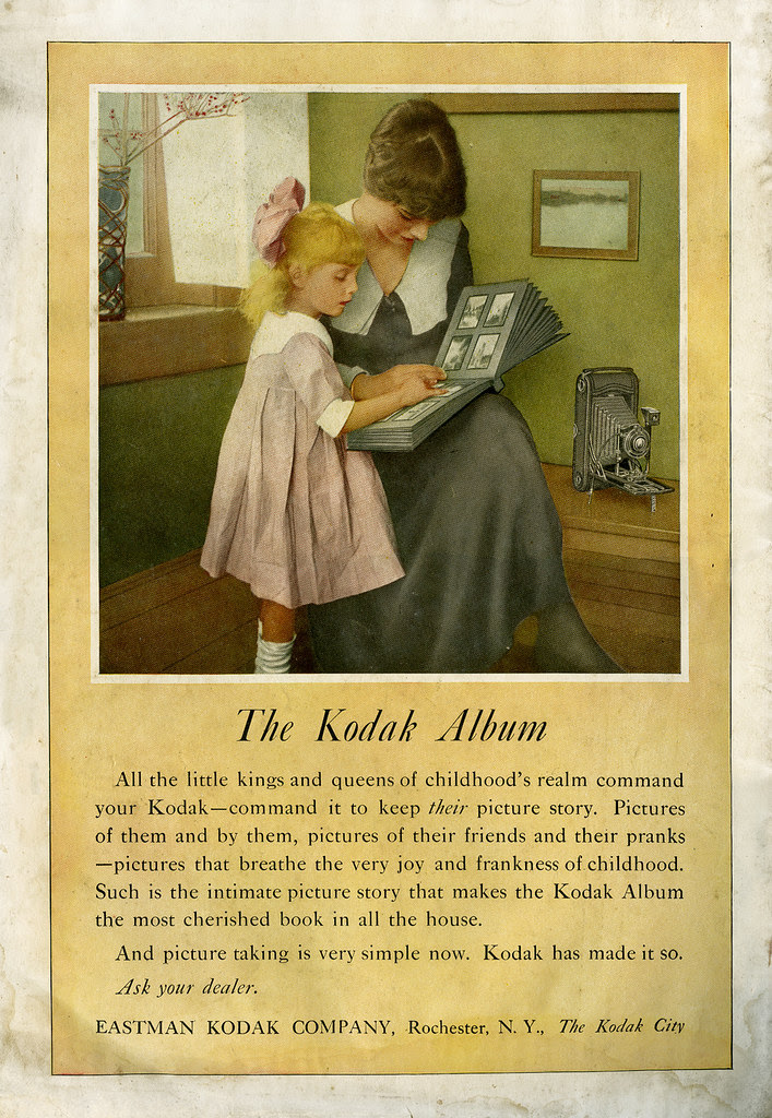 Kodak ad_The Delineator_July 1918_tatteredandlost
