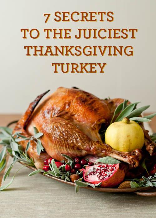 tutorial for the best Thanksgiving Turkey