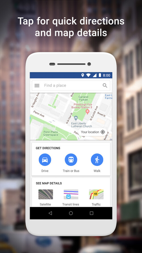 Lightweight Google Maps App Now Available For Download On Google Play Store