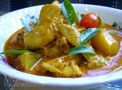 Kari Ayam Simpan Sehari Lagi Sedap Dapur Tanpa Sempadan