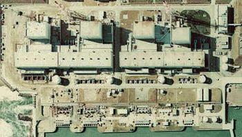 English: Fukushima I Nuclear Power Plant. Tigh...