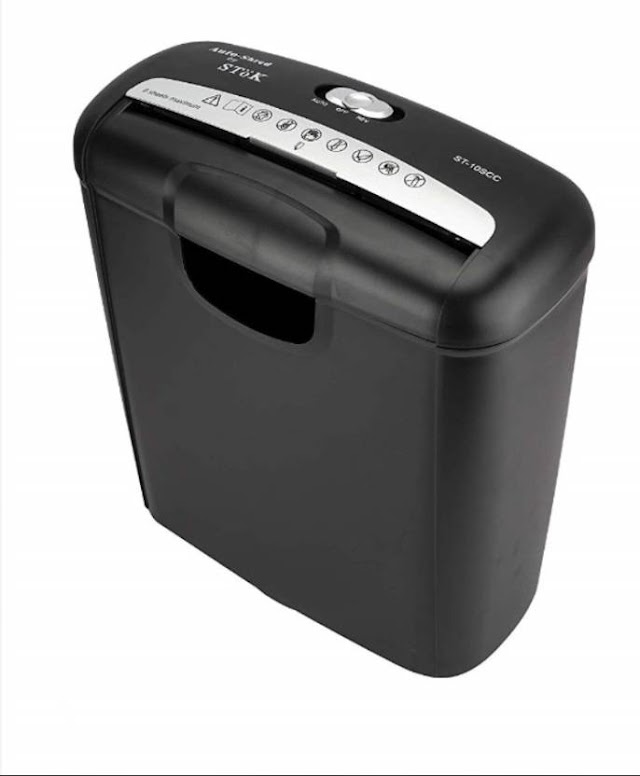 Stok ST-10SCC Shredder Paper Trimmer (Shredd Your Paper's Now)
