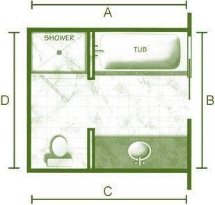 Bathroom Plans on Bathroom Floor Plan