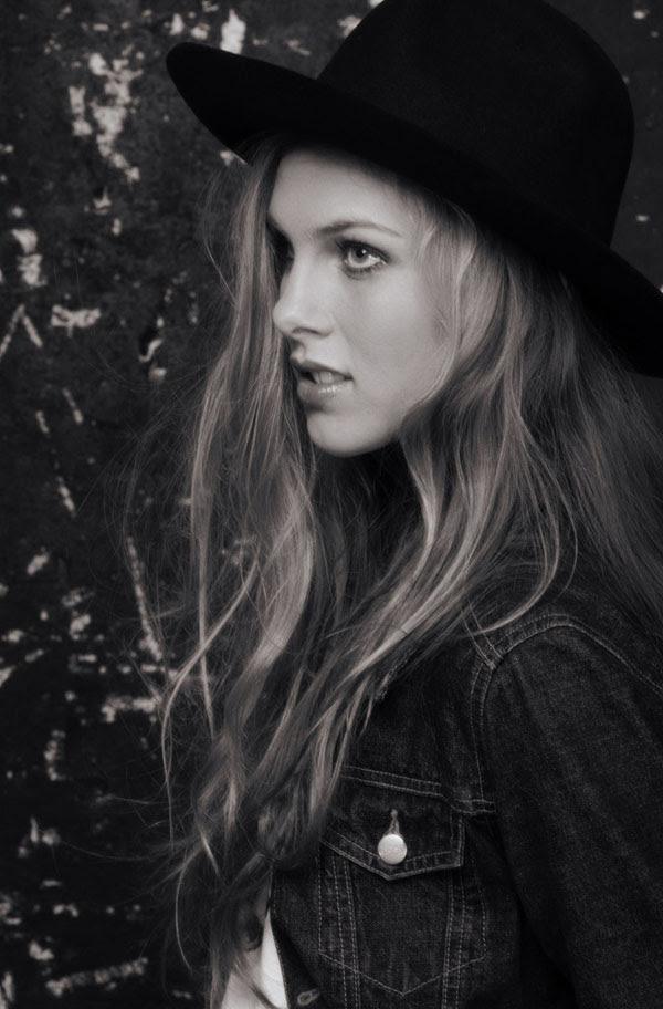 Kirstin, Fashion Portfolio, Headshot with Hat 2