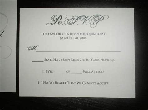 RSVP wording for guests who tend to bring along uninvited