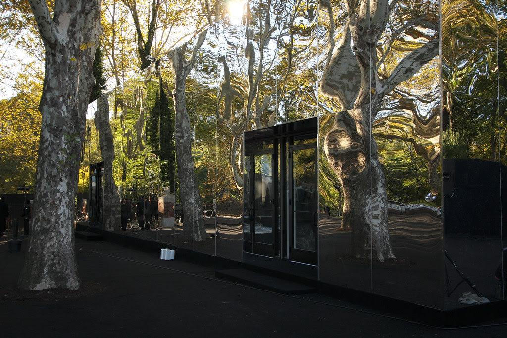 The mirror building