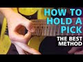 How To Hold A Guitar Pick For Metal