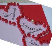 quilling valentine