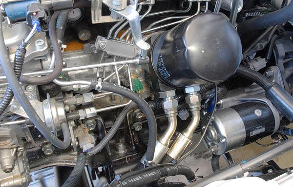 Safari Diesel Extreme Duty Oil Cooler System For The 4x4 Toyota Land Cruiser 1hz Diesel Engine