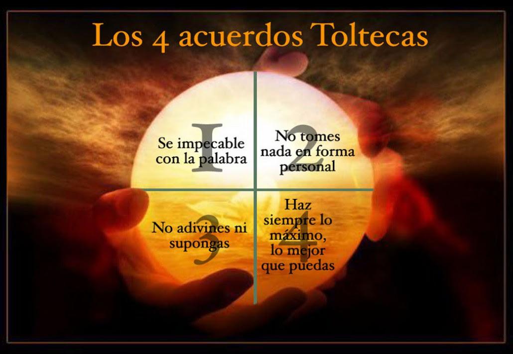 Cuatro, Acuerdos, de, la, Sabiduria, Tolteca, Se impecable, con tus, palabras, No, te, tomes, nada, personalmente, no hagas, suposiciones, da, lo, maximo, de, ti