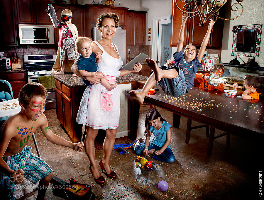 Photograph Super Mom by Team Elevendy on 500px