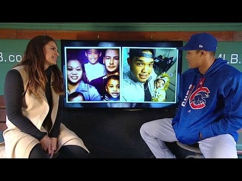 Addison Russell discusses Pokemon card collection
