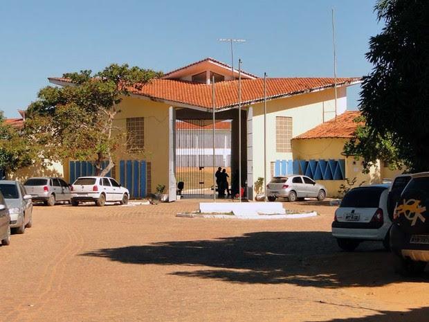 Penitenciária Estadual de Alcaçuz, em Nísia Floresta, no RN (Foto: Ricardo Araújo/G1)