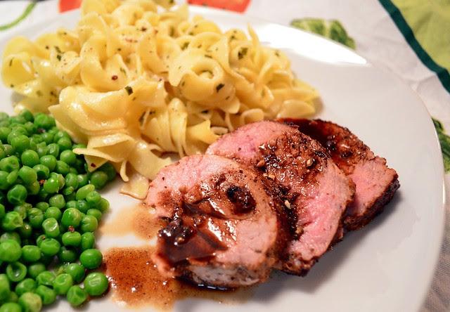 Pan-Roasted Pork Tenderloin