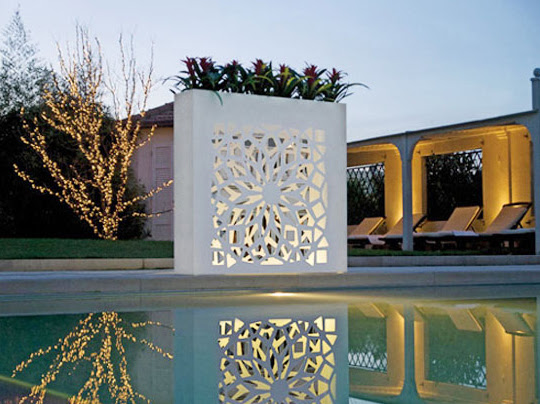 Outdoor Wall Pots and Planters Design by Bysteel   Room