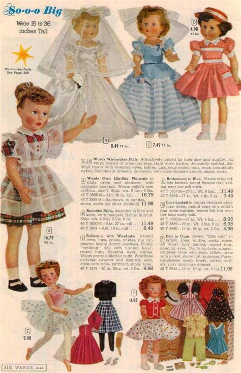 doll catalog pages images  pinterest