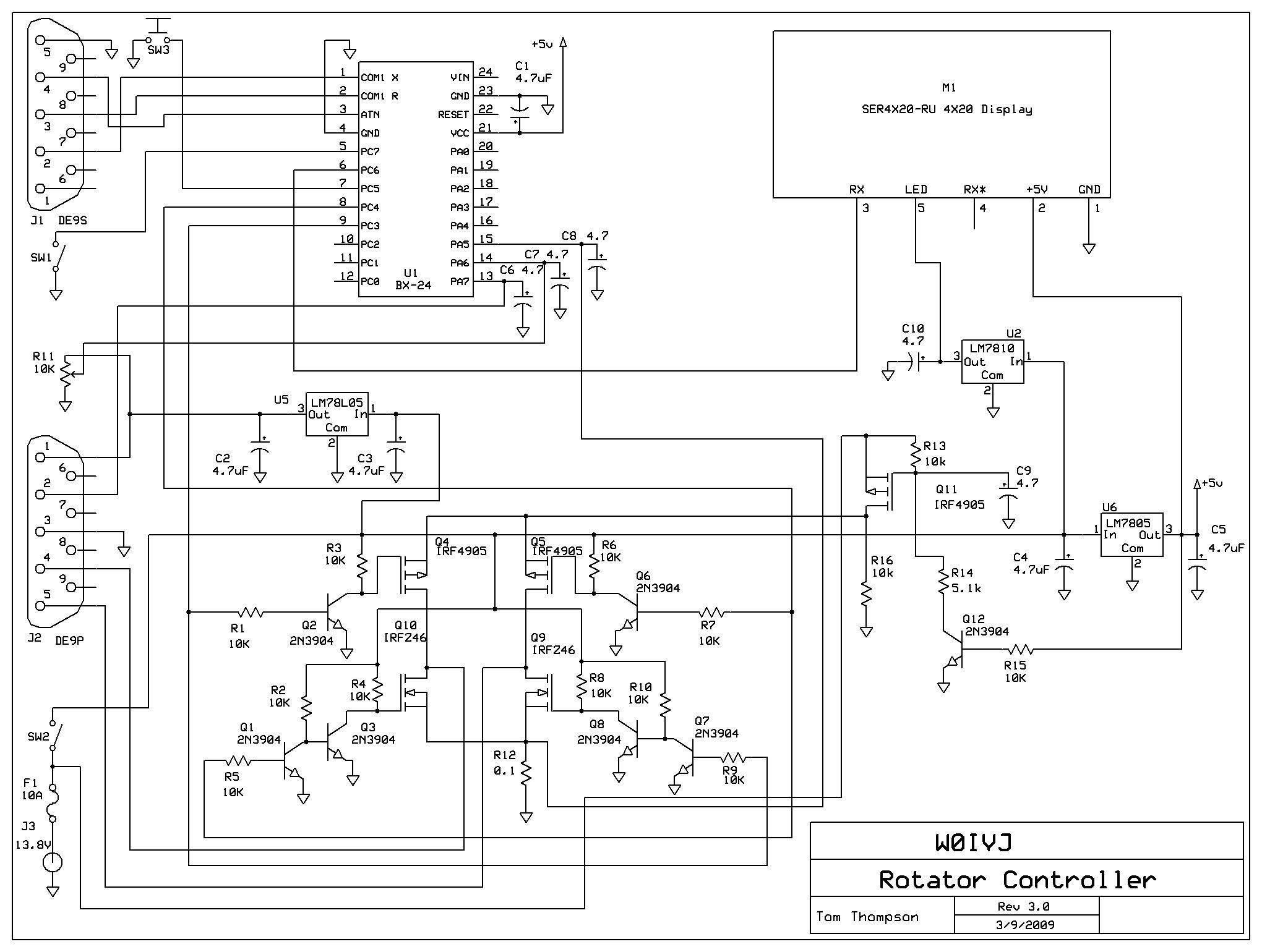 Wiring Diagram  30 Tv Antenna Rotor Wiring Diagram