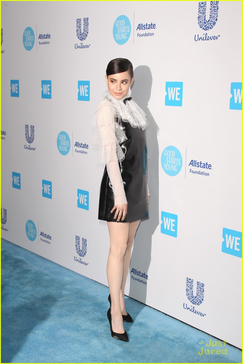 Sofia Carson Steps Out For WE Day California 2018 with ...