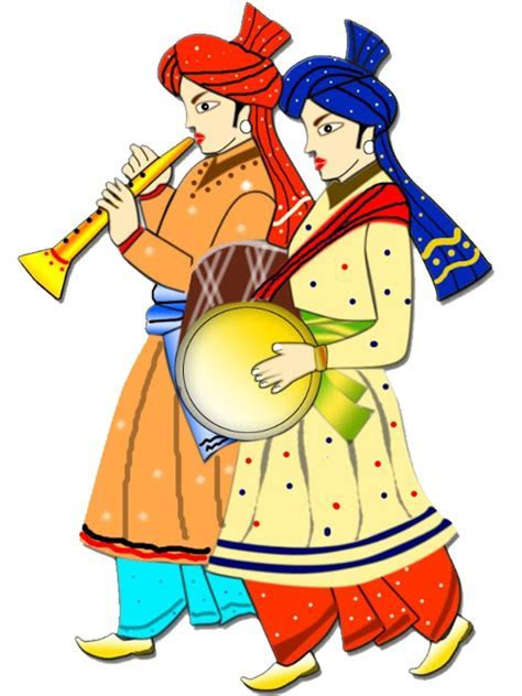 Hindu clipart barat   Pencil and in color hindu clipart barat