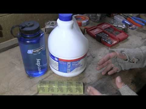 Lesurvivaliste survie l 39 eau de javel for Tache eau de javel