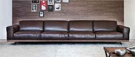 Design Inspiration: Large Modern Sofa by Vibieffe - Fancy 470