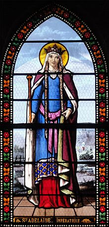 Sainte-Adélaïde - Église de Toury, vitraux par Lorin.jpg