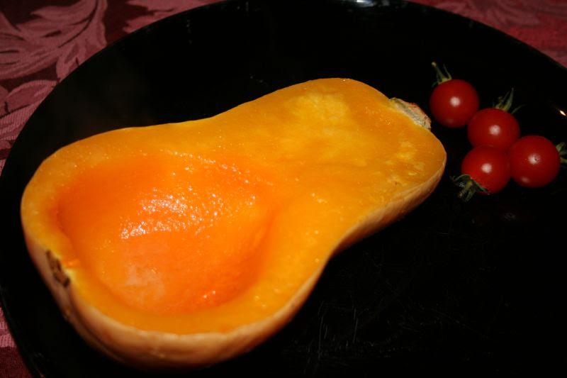 Butternut squash, baked