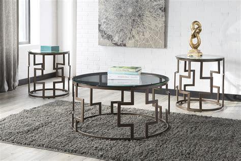 signature design  ashley frostine contemporary bronze