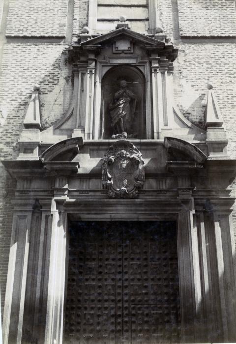 Convento de la Purísima Concepción (Capuchinas) en junio de 1905. Fotógrafo anónimo. Colección Luis Alba. Ayuntamiento de Toledo