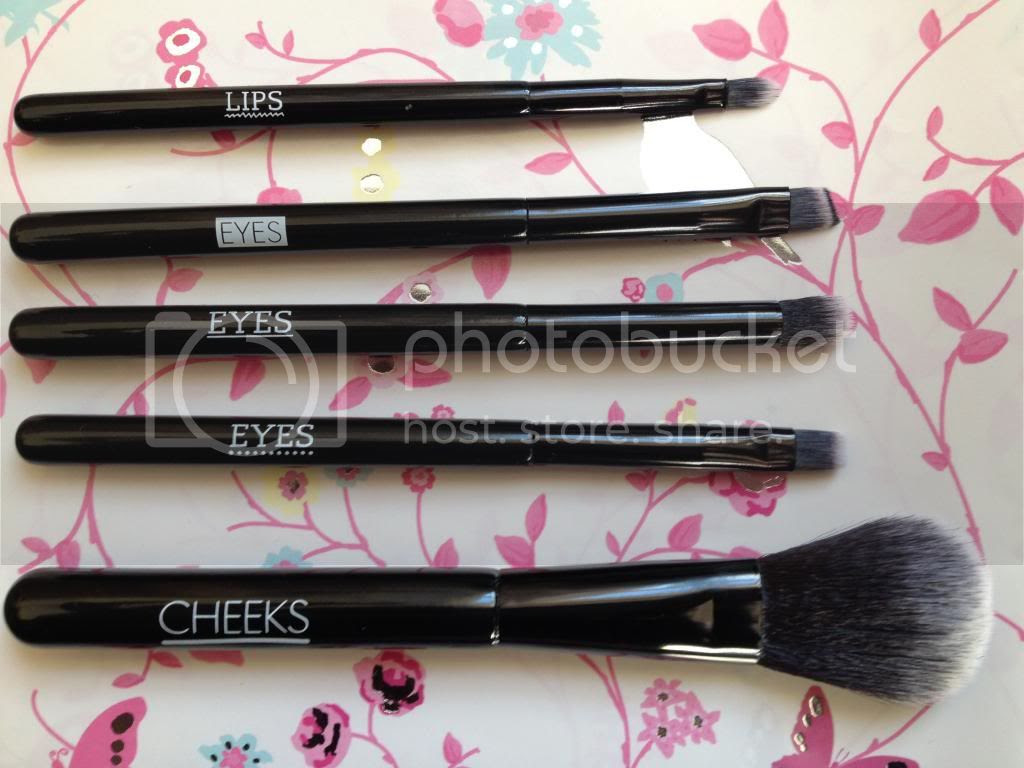 seventeen brushes