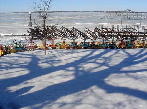 Terrace in March