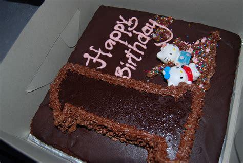 Fizalieta Cakes and Treats: Birthday day chocolate cake # 1