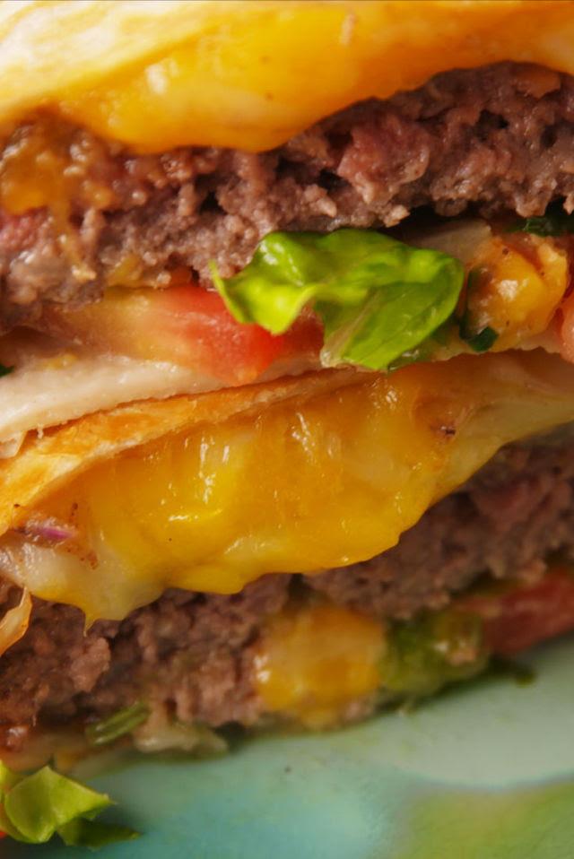 Quesadilla Burgers