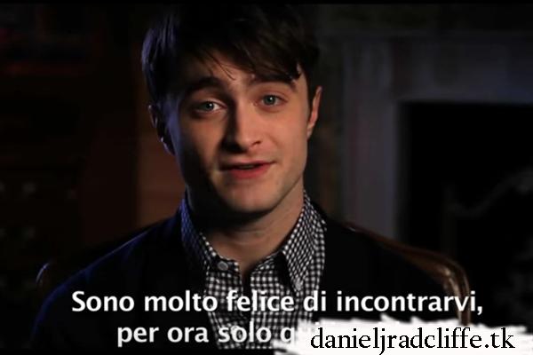 Daniel's message to Italian Fans