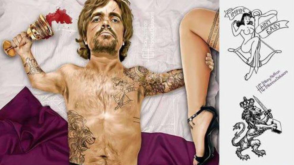 Así Serían Los Personajes De Juego De Tronos Con Tatuajes La