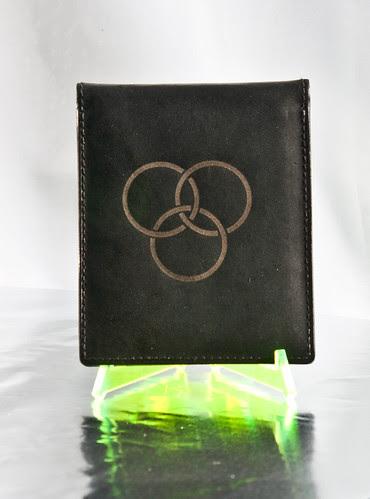 Laser etched wallet