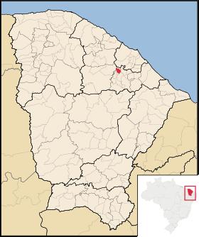 Localização de Pacoti