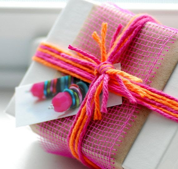 Gift Wrap Packaging Optional Add On Whimsical by WildWomanJewelry