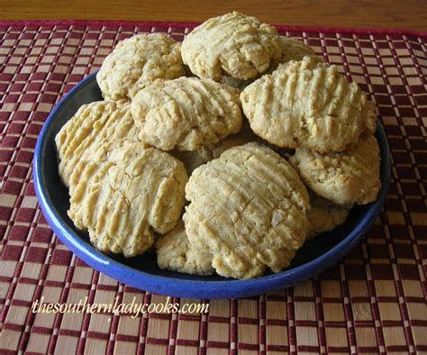 egg yolk cookies  southern lady cooks