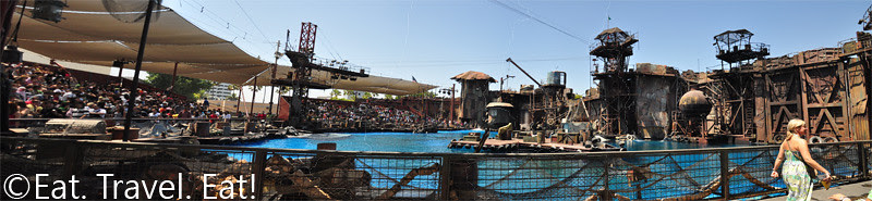 19 Waterworld Stage Panoramic