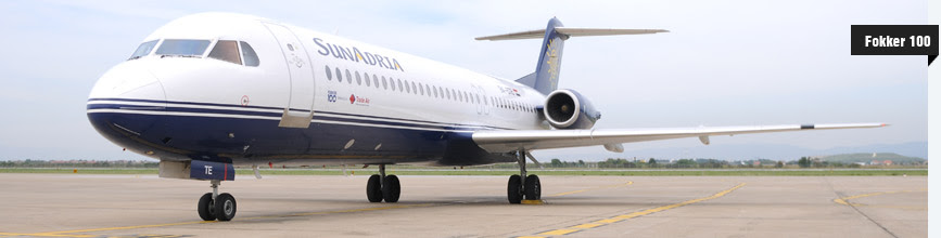 CiTylinK Airlines' Fokker 100 leased from Trade Air.