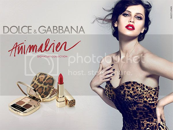 Felicity Jones in New Dolce & Gabbana Beauty Ad