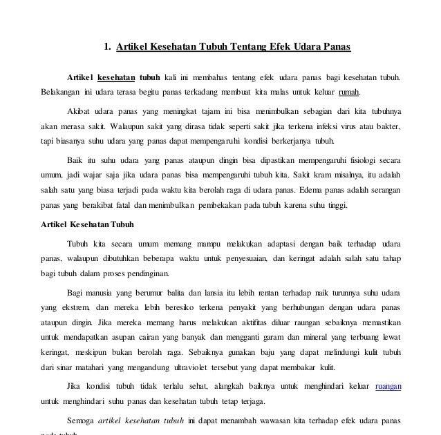 Contoh Artikel Menjaga Kesehatan Tubuh Desktop Pc S Amd