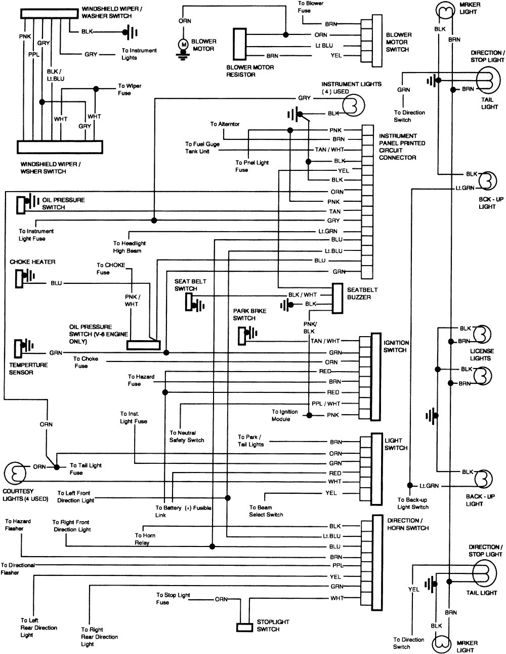 Wiring Diagram For 1971 Chevy Pickup