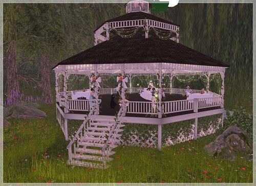 Wedding Day - Reception Gazebo