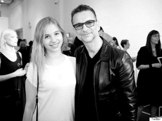 Stella Rose and Dave Gahan